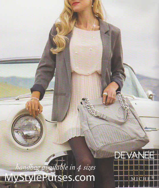 Devanee is available in 4 sizes:  Petite, Classic, Demi and Prima (shown here) | Shop MyStylePurses.com
