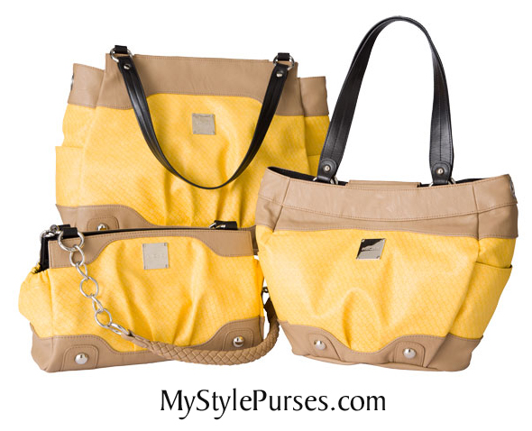 Miche April 2013:  Yellow Shells from MyStylePurses.com