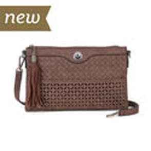 Camilla Handbag in Chocolate Brown available at MyStyleInASnap.com
