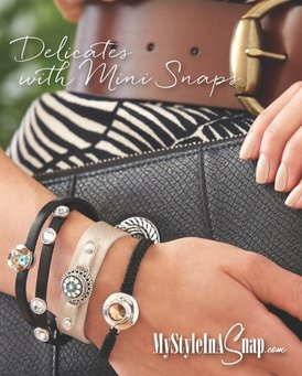 Shop beautiful interchangeable jewelry from Magnolia and Vine at MyStyleInASnap.com