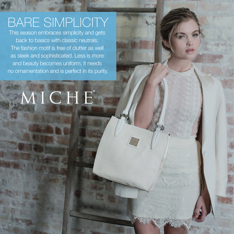 Miche Bare Simplicity Spring Collection available at MyStylePurses.com
