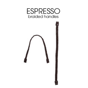 Miche Espresso Braided Handles