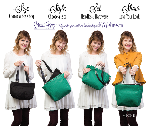 Miche Interchangeability is easy as 1-2-3! | Shop MyStylePurses.com