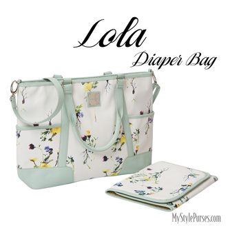 Miche Lola Diaper Bag available at MyStylePurses.com