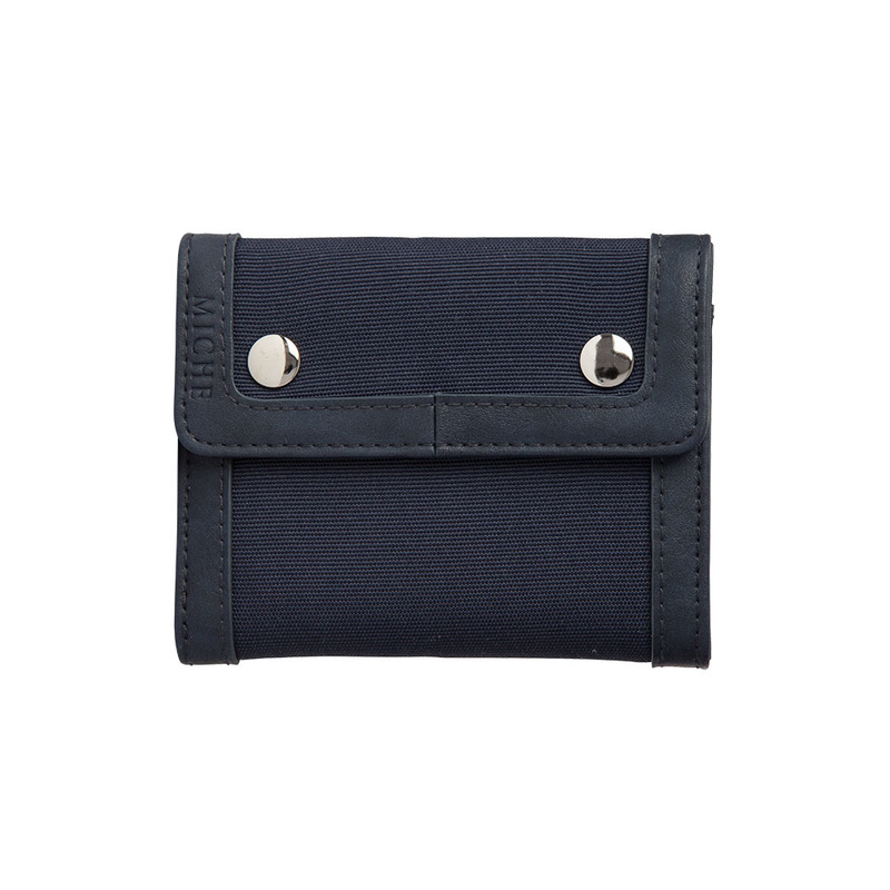 Miche Men's Navy Canvas Wallet available at MyStylePurses.com