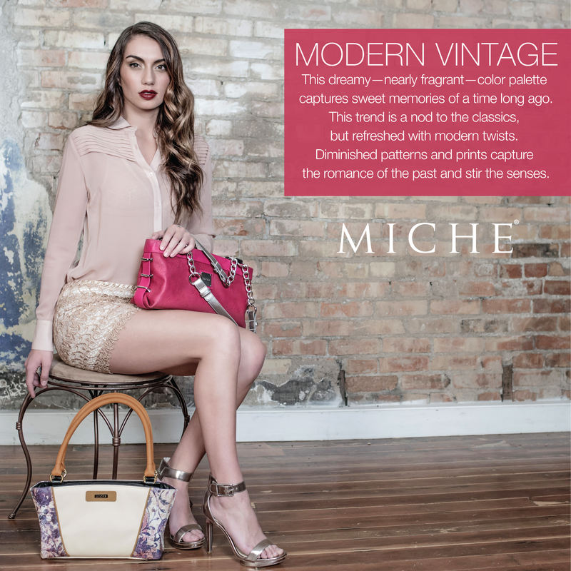 Miche Modern Vintage Spring Collection available at MyStylePurses.com
