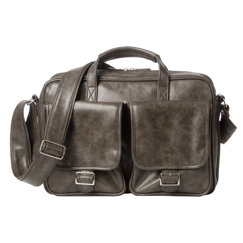 Miche Grey Briefcase available at MyStylePurses.com