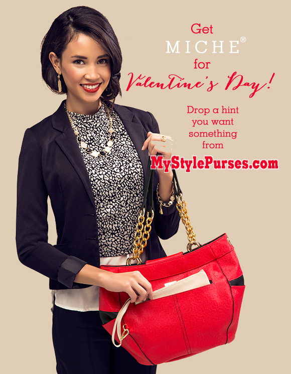 Drop a Hint you want Miche for Valentine's Day | Shop MyStylePurses.com