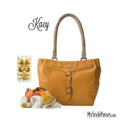 Miche Kacy Demi Shell (also comes in Prima) and the Madeline Scarf and Cell Phone Case - available at MyStylePurses.com