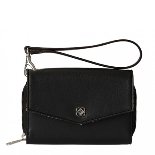 Miche Black Phone Wallet available at MyStylePurses.com