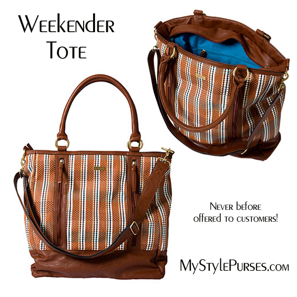 Miche Weekender Tote - Shop MyStylePurses.com