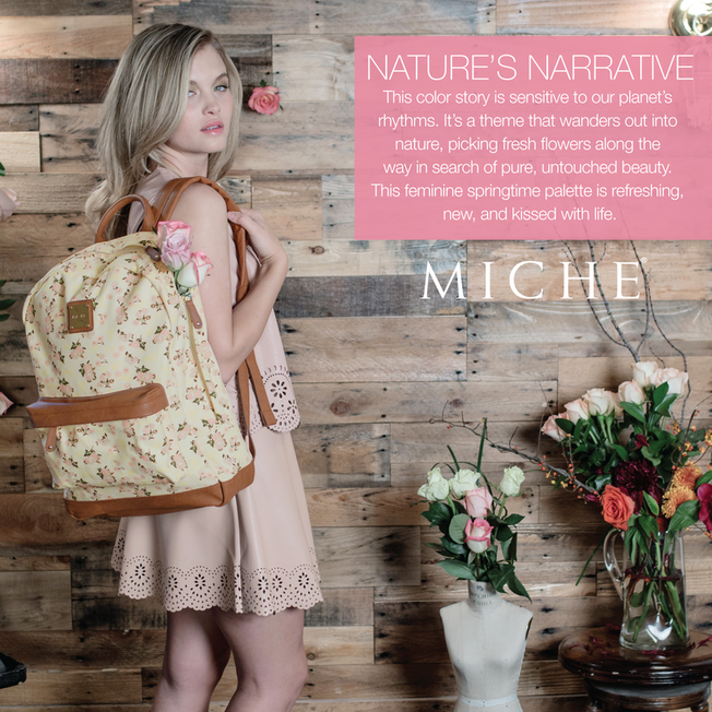 Miche Nature's Narrative Spring Collection available at MyStylePurses.com