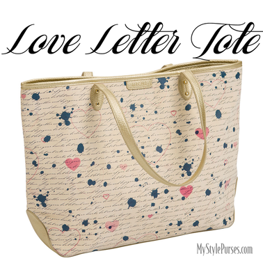 Miche Love Letter Tote available at MyStylePurses.com